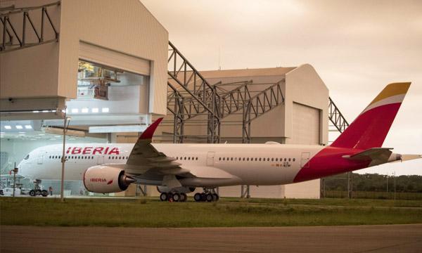 Iberia se prépare à recevoir son A350