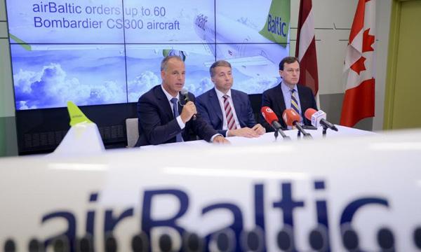 AirBaltic commande jusqu'à 60 CS300 de plus