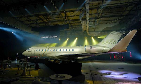 EBACE 2018 : Bombardier lance le salon avec les Global 5500 et 6500