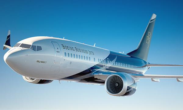 EBACE 2018 : Le programme d'essais en vol du BBJ MAX progresse