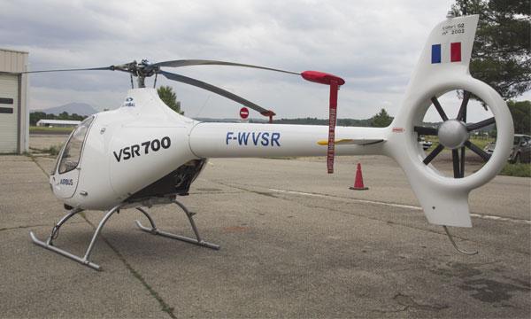 Priorité à l'export pour le VSR700