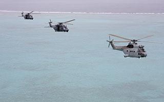 Les forces aériennes en Nouvelle-Calédonie