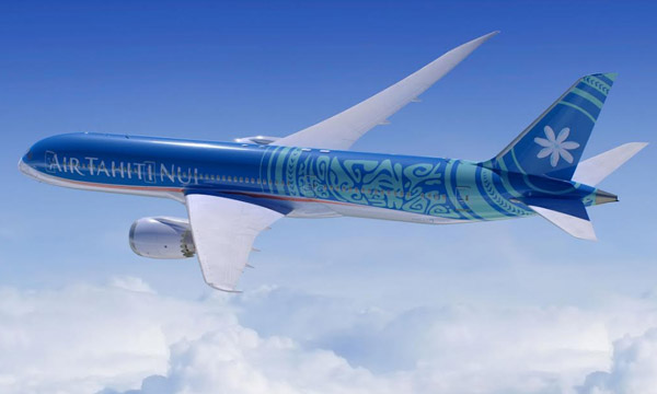 Air Tahiti Nui dévoile les cabines de ses Boeing 787