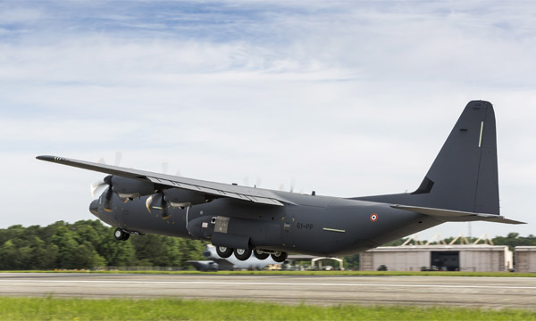 Lockheed Martin livre le second C-130J français