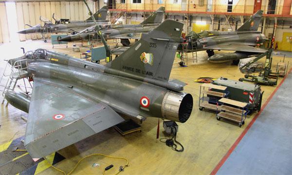 Les Mirage 2000N laissent la place aux Rafale pour les Forces aériennes stratégiques