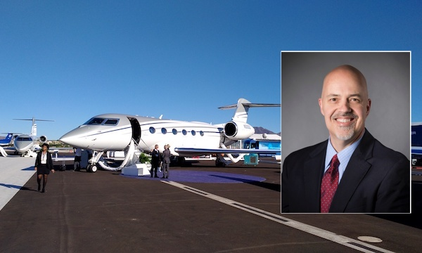 Derek Zimmerman (Gulfstream): We've been working on the arrival of G500 and G600 for several years