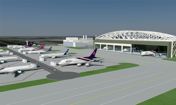 Airbus and Thai Airways to launch a new joint venture MRO facility at U-Tapao