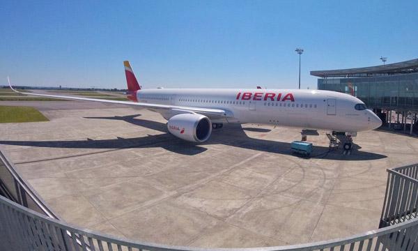 Iberia réceptionne son premier Airbus A350