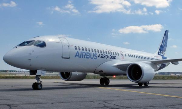 Aéronautique : Airbus et Bombardier présentent l'A220