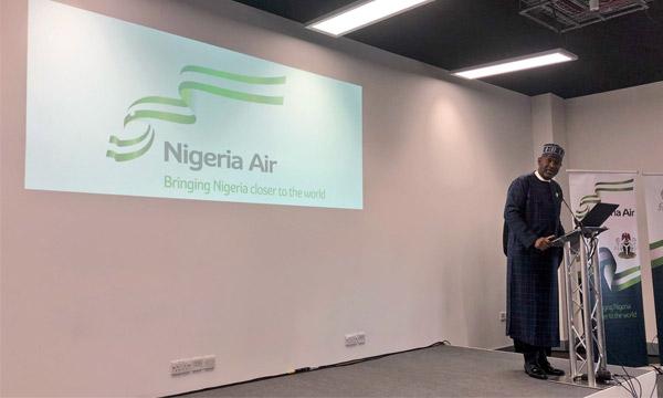 Farnborough 2018 : Nigeria Air doit devenir la compagnie porte-drapeau du pays