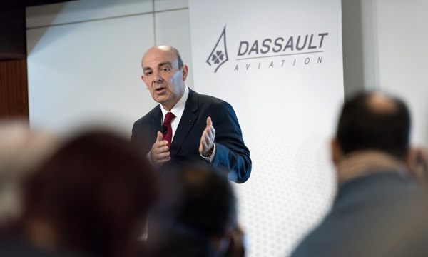 Dassault Aviation confirme ses perspectives