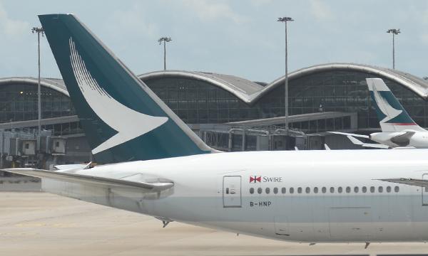 Cathay Pacific a réduit ses pertes au premier semestre
