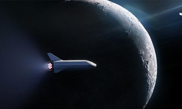 SpaceX est toujours en course pour la Lune avec un premier client privé