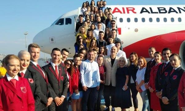 Air Albania prête à lancer ses opérations