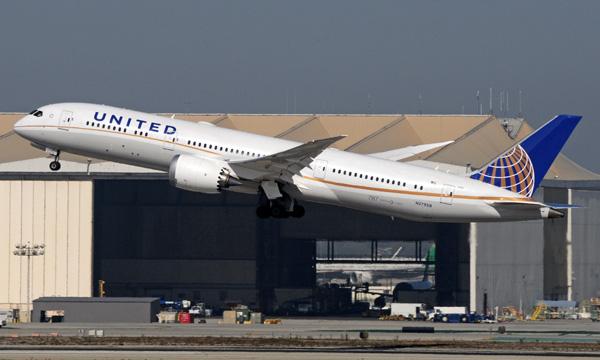 United Airlines va utiliser Newark pour accroitre le nombre de 787 opérés sur l'Europe