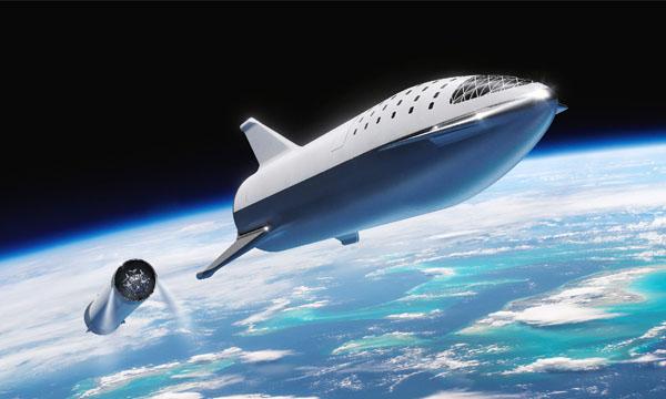 Nouveau visage pour le BFR de SpaceX