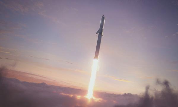 SpaceX, l'ISS avant la Lune