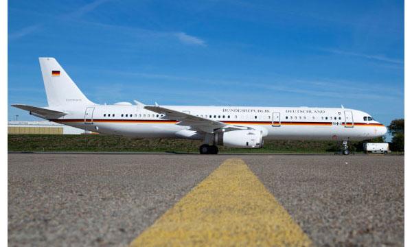 L'Allemagne réceptionne un A321 VIP