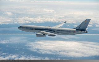 L'A330 MRTT Phénix décolle pour l'armée de l'air