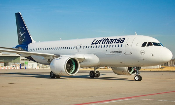 Lufthansa veut se doter de 27 Airbus de la famille A320neo supplémentaires