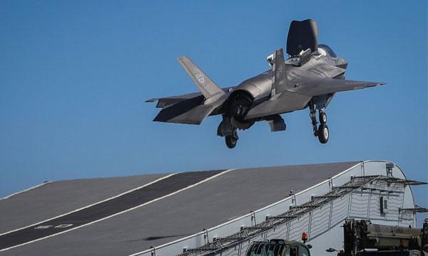 Fin de semaine compliquée pour le F-35B