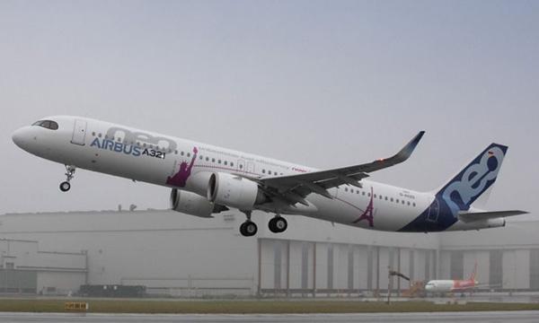 L'A321neo peut désormais emporter jusqu'à 7 tonnes de carburant en plus