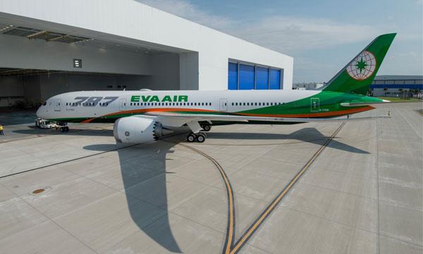 Eva Air reçoit son 1er Boeing 787 et lance sa nouvelle classe affaires