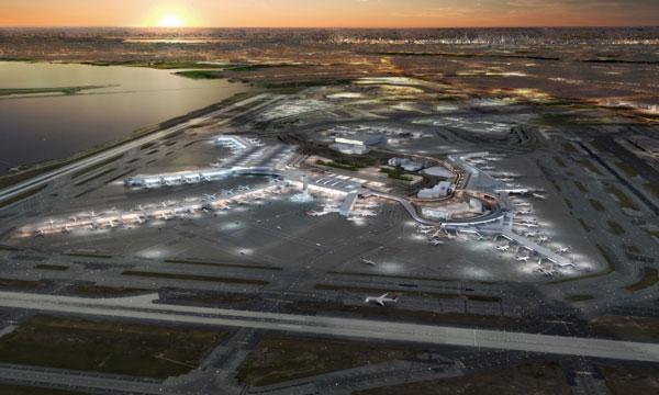 Vers un aéroport de JFK à deux grands terminaux