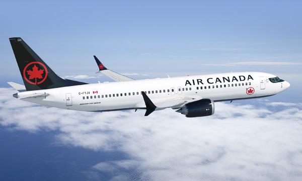 Air Canada va desservir Bordeaux en Boeing 737 MAX 8