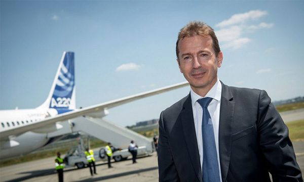 Airbus : Guillaume Faury appelle à une ouverture des frontières et à une reprise rapide des vols en Europe