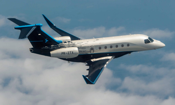 EBACE 2019 : Le Praetor 600 d'Embraer complète sa collection de certifications