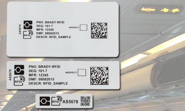 MRO Europe: Brady launches RFID Air, a new, ultra-slim RFID label for non-metal surfaces