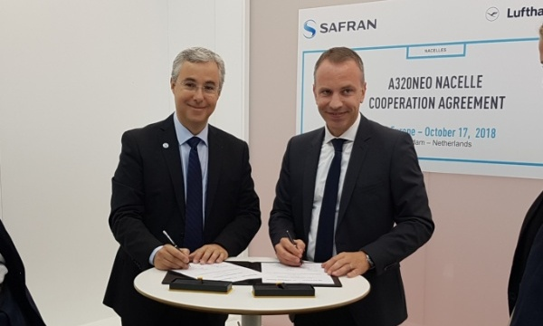 MRO Europe: Safran Nacelles and Lufthansa Technik join forces in maintenance
