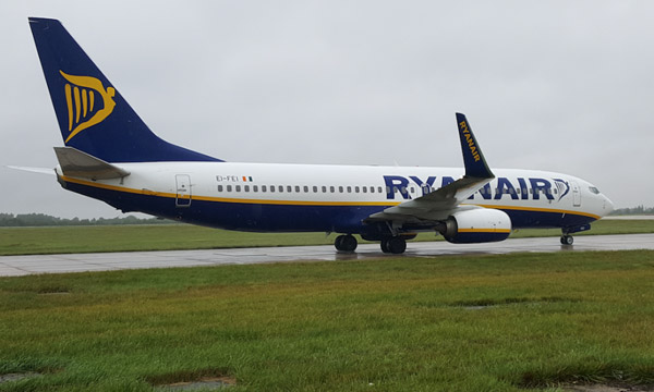Le bénéfice de Ryanair en repli