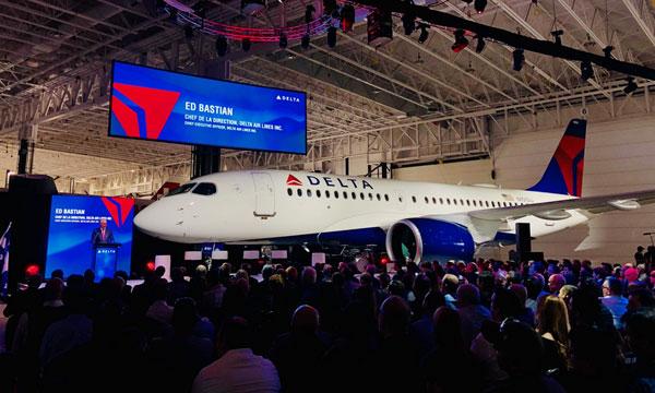 Delta Air Lines reçoit son 1er Airbus A220