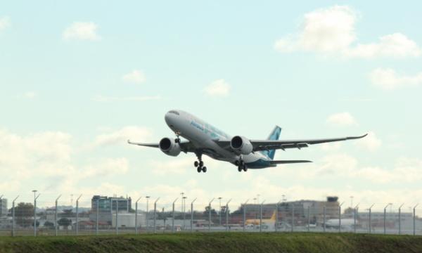 Premier vol pour l'A330-800 d'Airbus