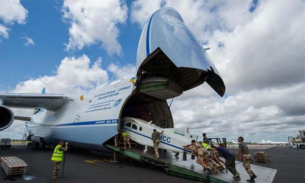 Antonov poursuit le contrat SALIS