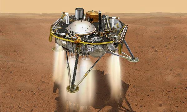 Les « six minutes et demi de terreur » de l'atterrissage d'InSight sur Mars