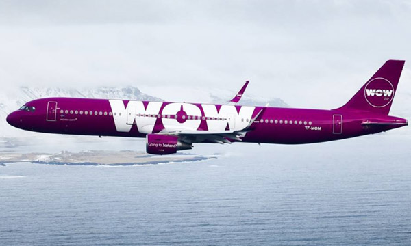 Wow Air retire quatre appareils de sa flotte