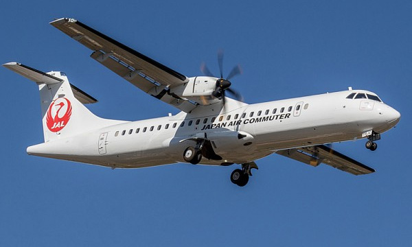 Japan Air Commuter reçoit le 1 500e ATR