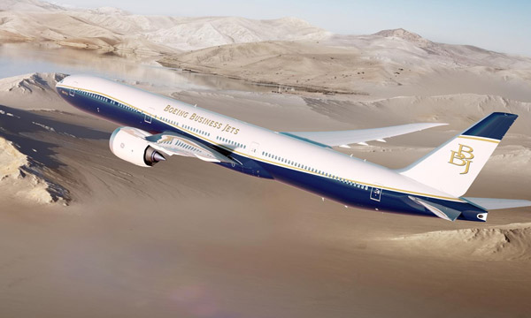 Boeing lance le BBJ 777X