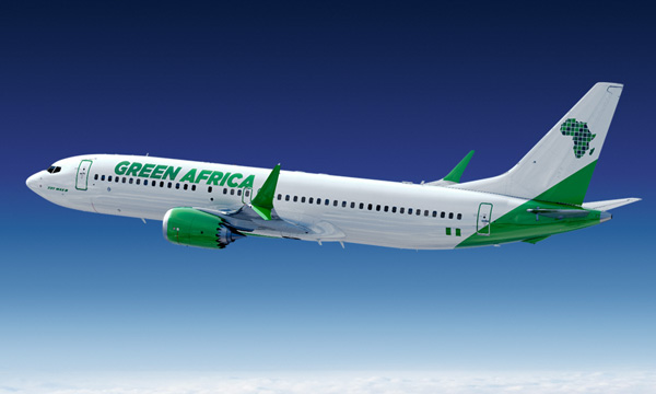 Boeing : Green Africa Airways commande 100 Boeing 737 MAX 8