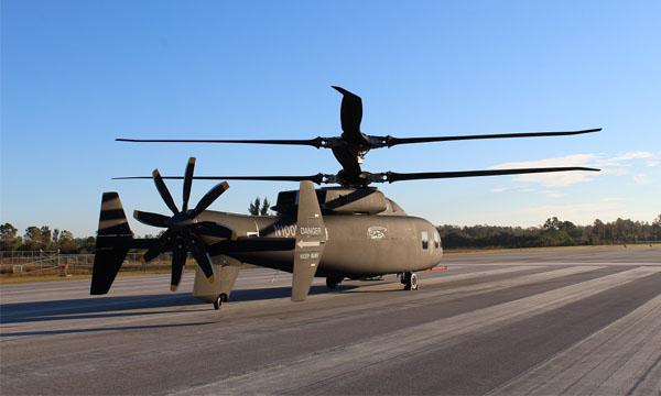Sikorsky et Boeing présentent le démonstrateur SB>1 Defiant