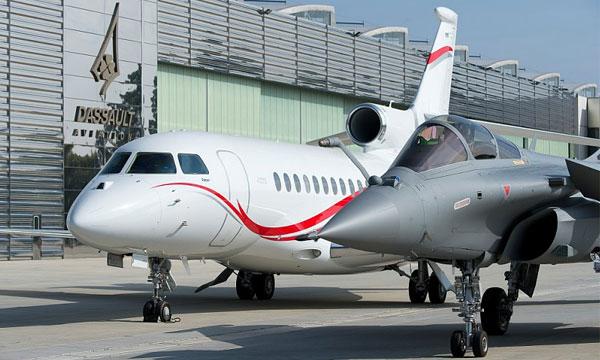 Hausse des commandes de jets de Dassault Aviation en 2018