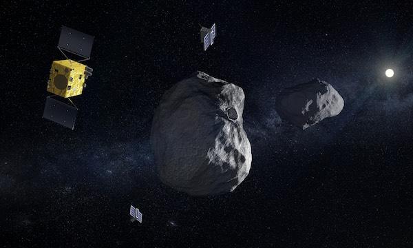 La Nasa et l'ESA se préparent à l'attaque de Didymos