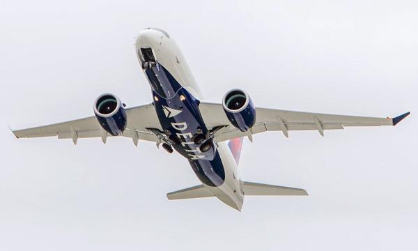 Delta Air Lines augmente sa commande d'Airbus A220 et prend des A220-300