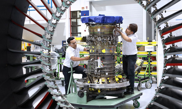 First Pratt & Whitney GTF engine to be overhauled in South East Asia