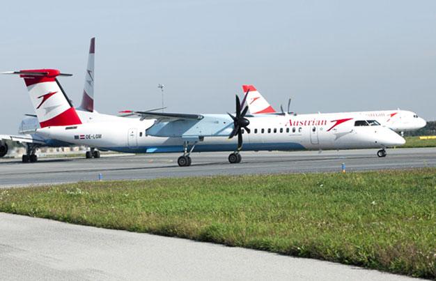 Austrian retire ses Q400 et renforce son hub de Vienne