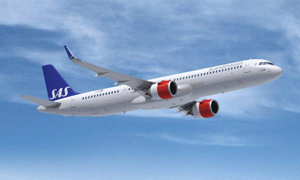 SAS va tester l'Airbus A321LR