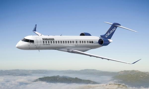 Bombardier lance le CRJ550 avec United Airlines